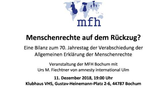 Menschenrechte auf dem Rückzug?