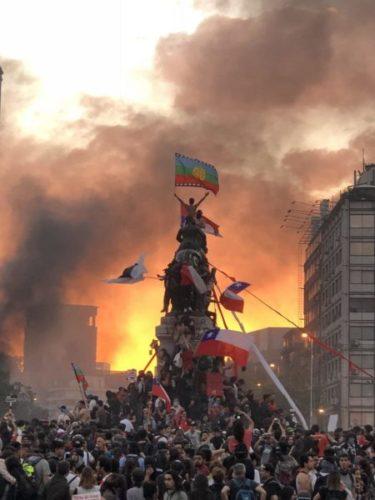Gegen systematische Repression und Gewalt! – Solidarität mit dem Widerstand in Chile